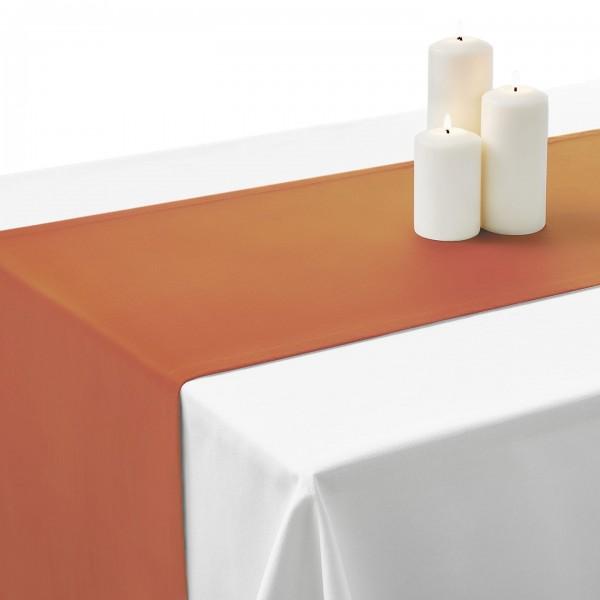 Falbana do stołów GŁADKI STANDARD 404-01 biała