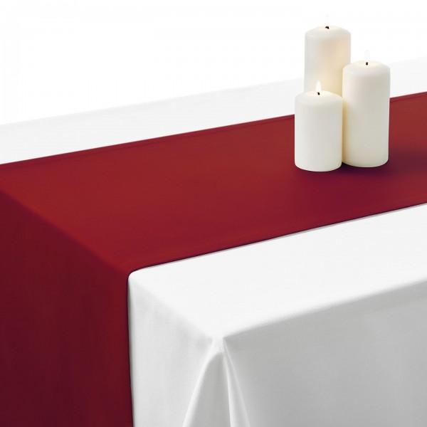 Falbana do stołów łososiowa Standard Gładki
