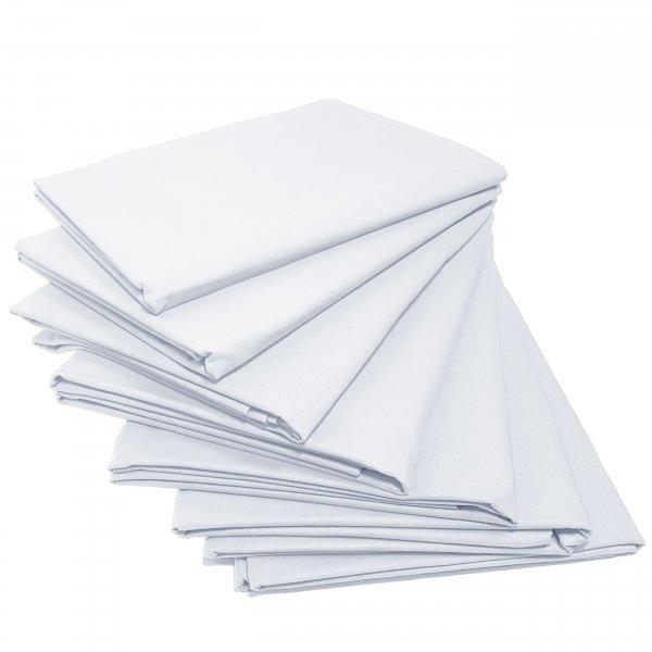 Prześcieradło bawełniane STANDARD 200x220 biały