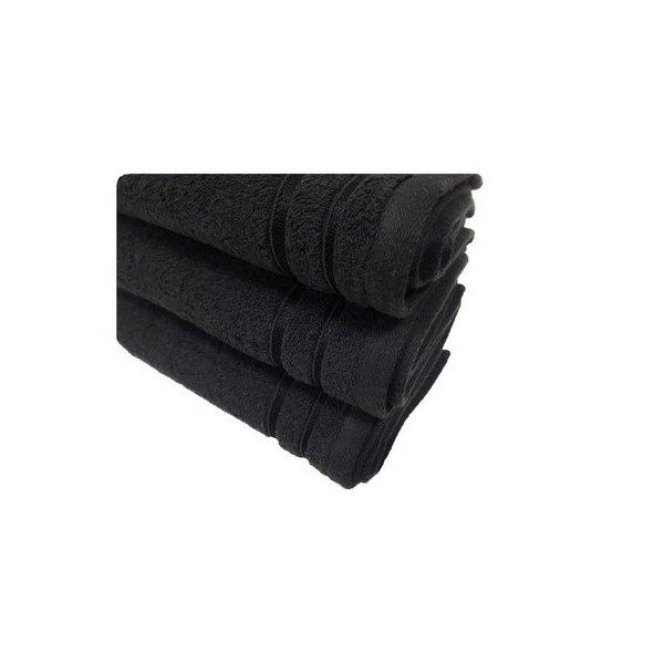 Ręcznik frotte ELEGANCE GSM100 30x50 235-34 czarny