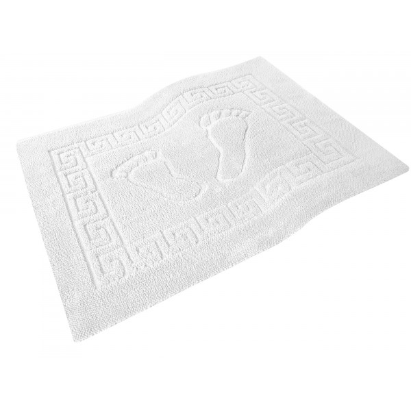 Dywanik łazienkowy ANTYPOŚLIZGOWY 50x70 210-01 biały