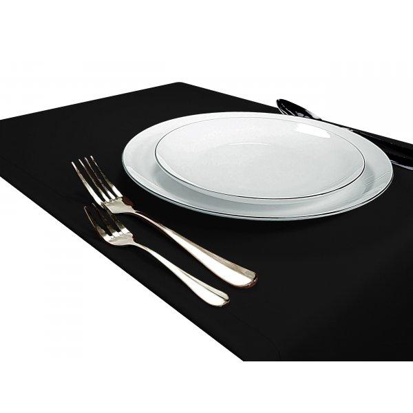 Bieżnik na stół GŁADKI STANDARD 404-34 czarny