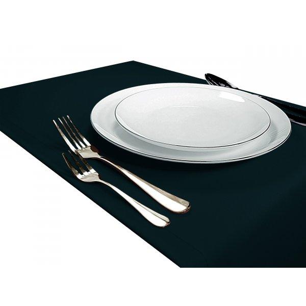 Bieżnik na stół GŁADKI STANDARD 404-67 malachit ciemny
