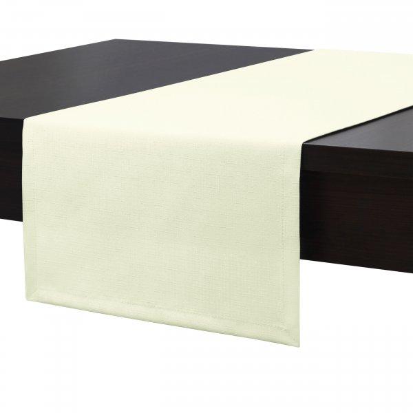 Bieżnik na stół plamoodporny PREMIUM 414-02 ecru