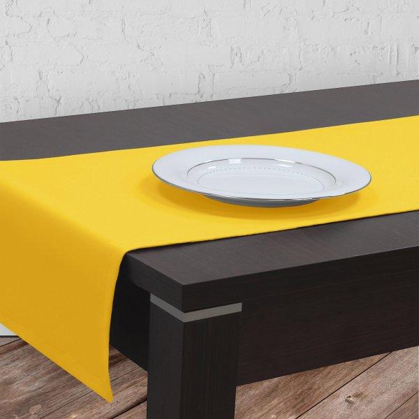 Bieżnik na stół plamoodporny GOLD 401-05 żółty