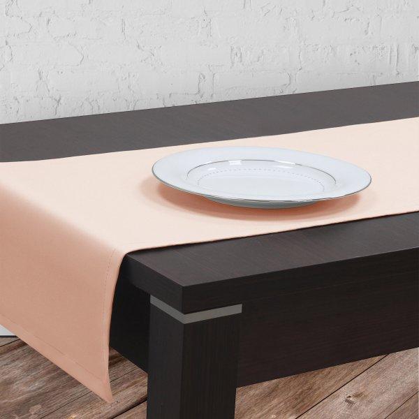 Bieżnik na stół plamoodporny GOLD 401-04 łosoś