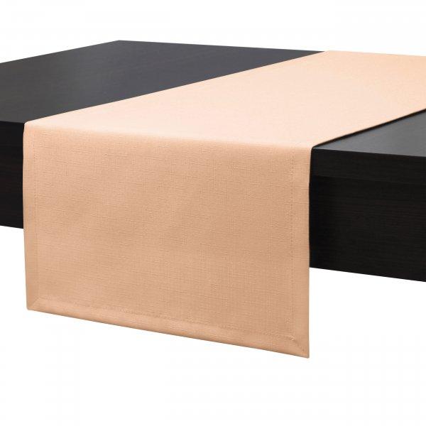 Bieżnik na stół plamoodporny PREMIUM 414-04 łosoś