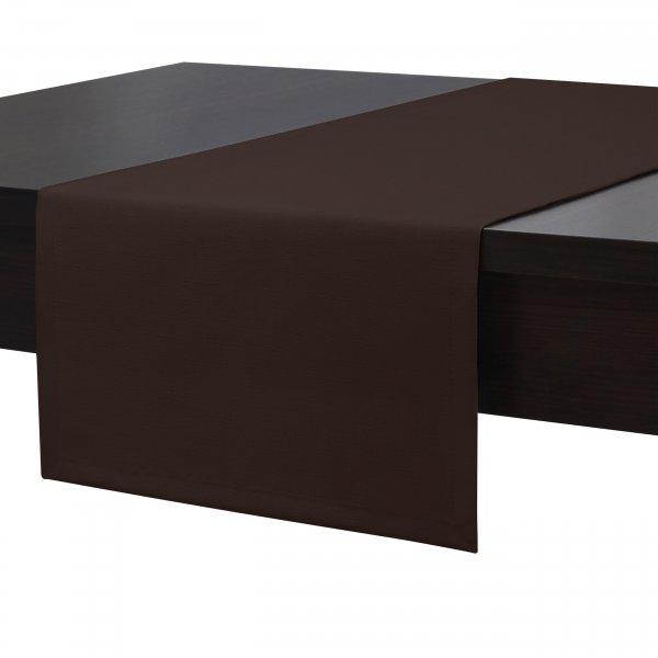 Bieżnik na stół plamoodporny PREMIUM 414-29 brąz ciemny