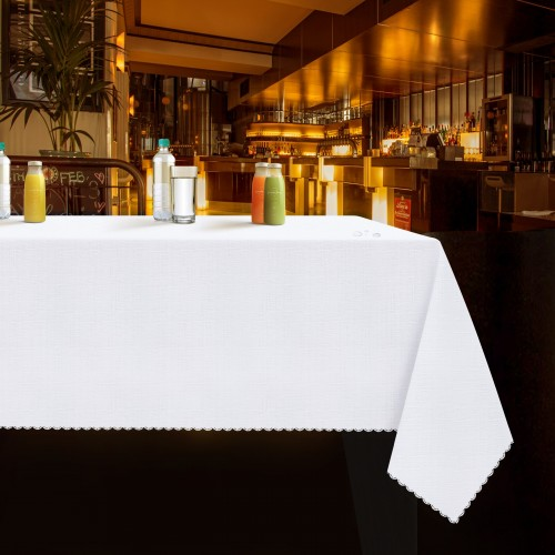 Obrus plamoodporny deszczyk WEDDING & GASTRO PUB biały