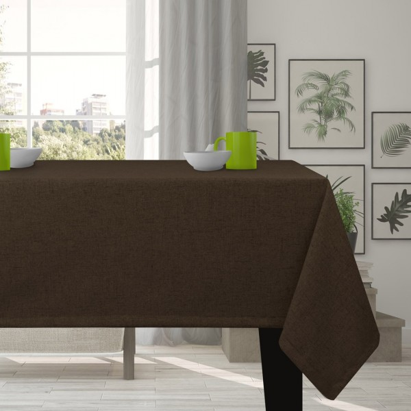 Obrus na stół VERONA 177-29 marron