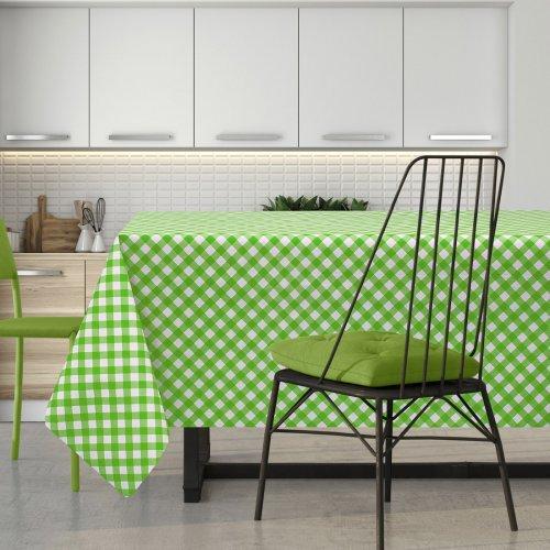 Cerata w zieloną kratkę na włókninie 600-5731440