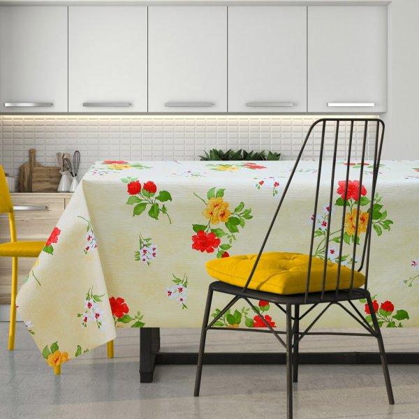 Cerata w kolorowe kwiaty na włókninie 600-5734610