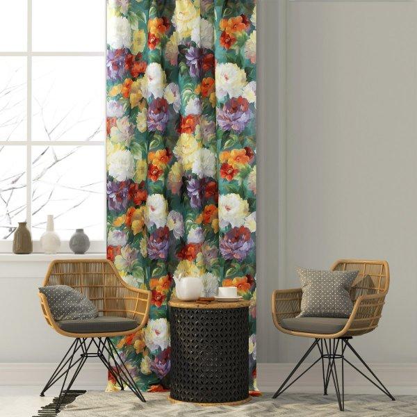 Zasłona dekoracyjna SECRET GARDEN 140x250 170-02