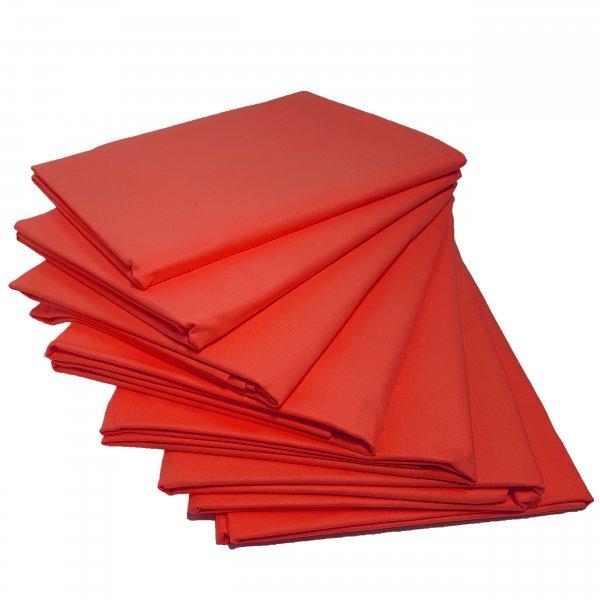 Prześcieradło bawełniane STANDARD 200x220 czerwony