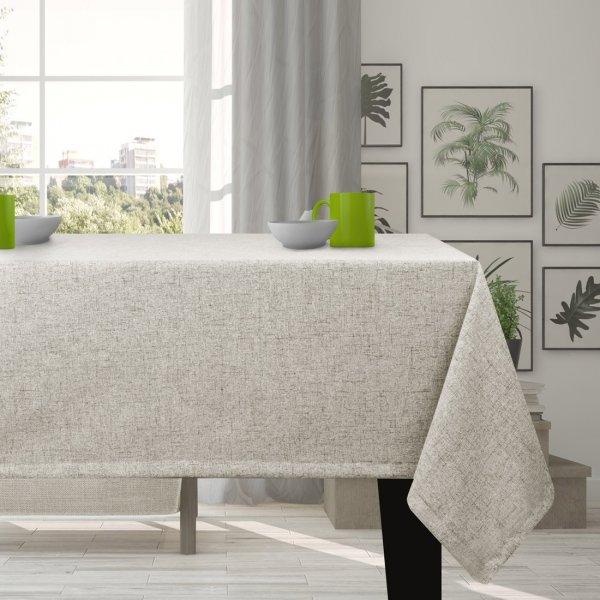 Obrus na stół VERONA 177-147 grey beige