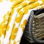 Zasłona gotowa BLOOM PRIME 168-05 biały żółty