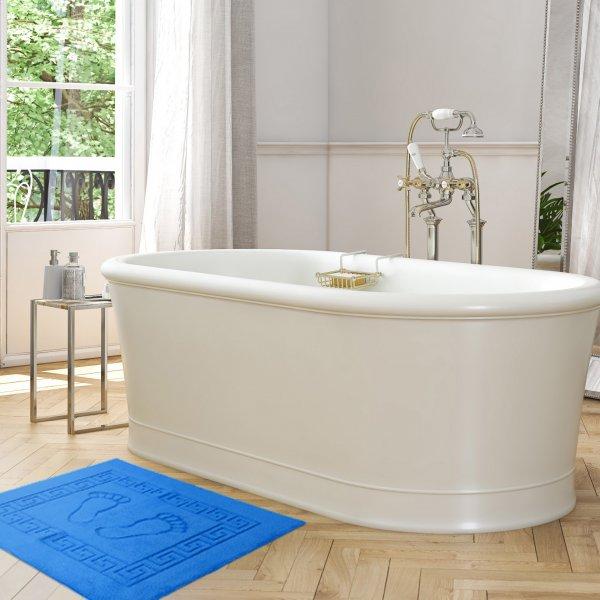 Dywanik łazienkowy ANTYPOŚLIZGOWY 50x70 210-90 niebieski