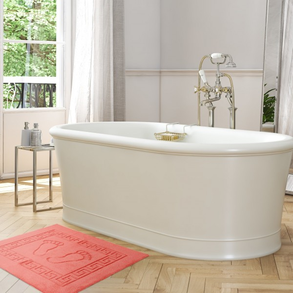Dywanik łazienkowy ANTYPOŚLIZGOWY 50x70 210-04 łosoś
