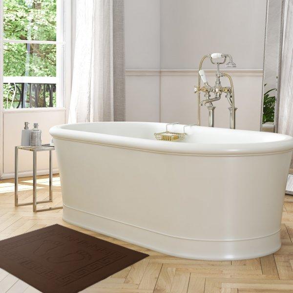 Dywanik łazienkowy ANTYPOŚLIZGOWY 50x70 210-29 brąz ciemny