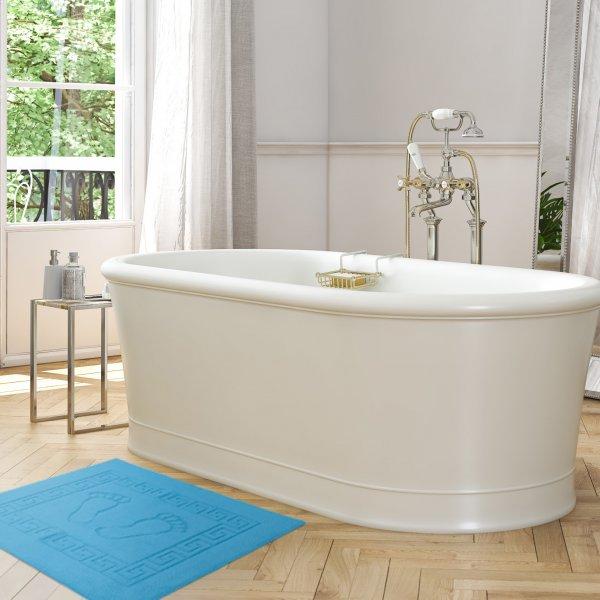 Dywanik łazienkowy ANTYPOŚLIZGOWY 50x70 210-17 turkus