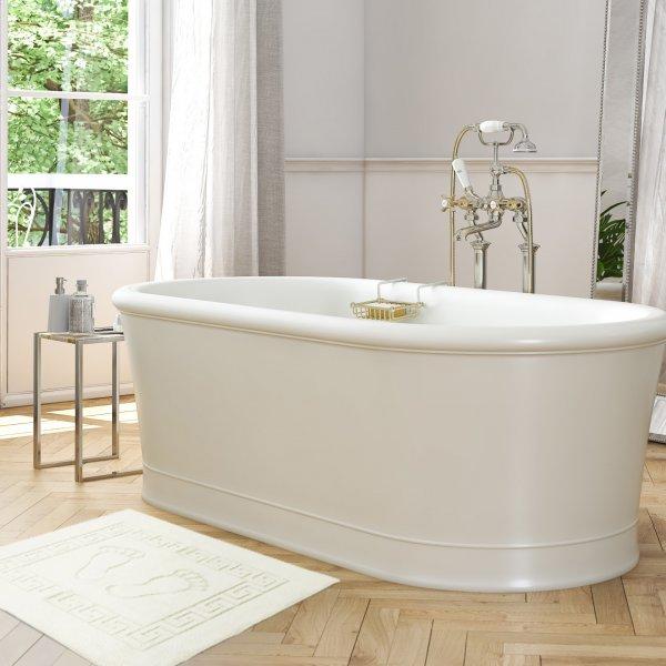 Dywanik łazienkowy ANTYPOŚLIZGOWY 50x70 210-02 ecru