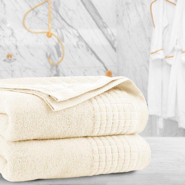 Ręcznik frotte PAOLO 70x140 323-02 ecru
