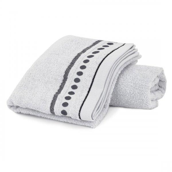 Ręcznik frotte Zwoltex TRIO 50x90 320-31 szary