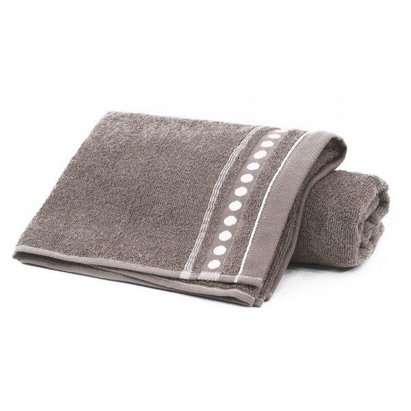 Ręcznik frotte Zwoltex TRIO 50x90 320-58 mocca