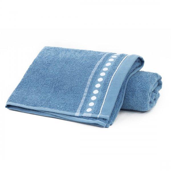 Ręcznik frotte Zwoltex TRIO 50x90 320-90 niebieski