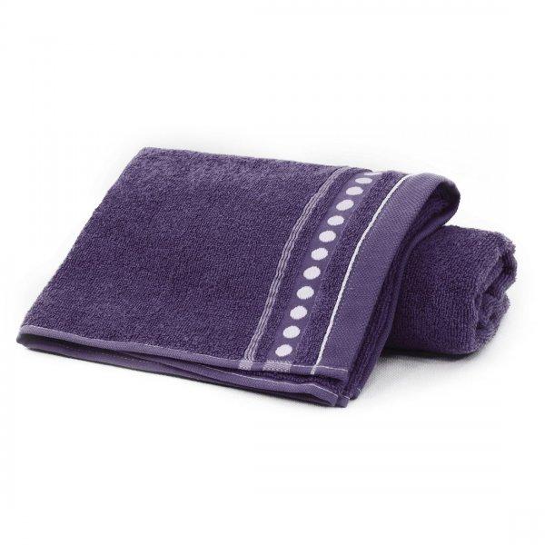 Ręcznik frotte Zwoltex TRIO 70x140 320-54 śliwa