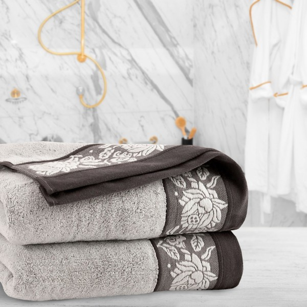 Ręcznik frotte Zwoltex KARIF 70x140 321-02 ecru