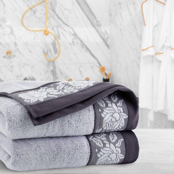 Ręcznik frotte Zwoltex KARIF 70x140 321-31 szary