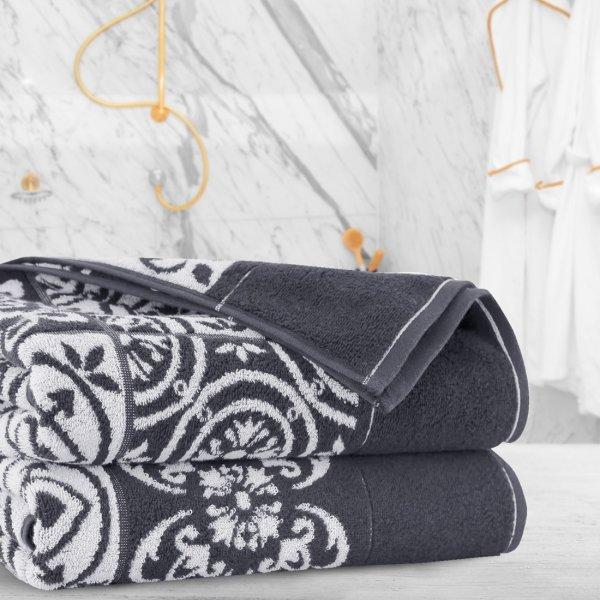 Ręcznik frotte Zwoltex ENRICA 50x100 326-61 grafit