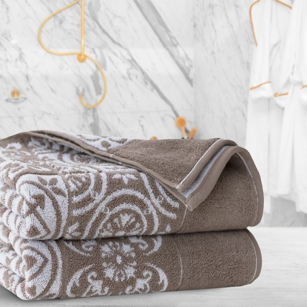 Ręcznik frotte Zwoltex ENRICA 70x140 326-03 beż