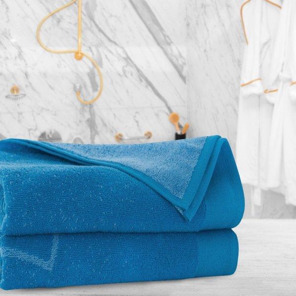 Ręcznik frotte Zwoltex ACTIVE 70x140 324-90 niebieski