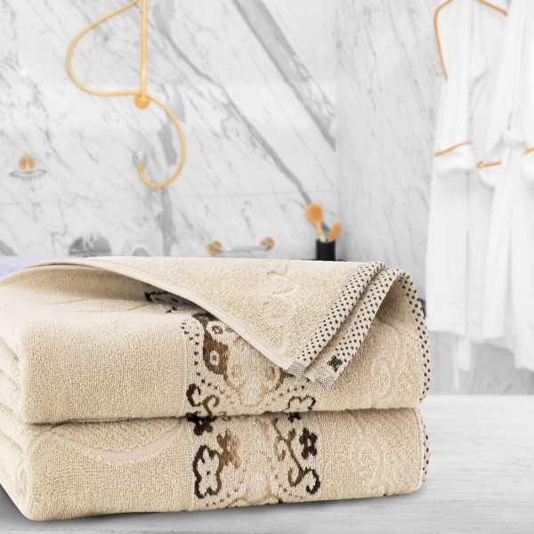 Ręcznik frotte Zwoltex VICTORIA 50x100 325-03 beż