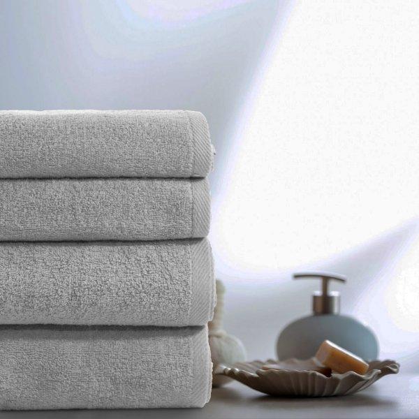 Komplet ręczników VENUS 4-częściowy 246-31 szary jasny