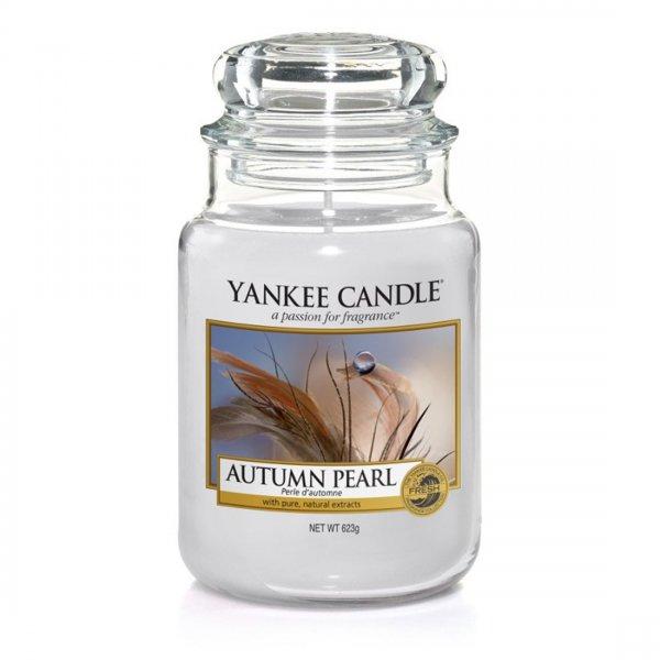 Świeca zapachowa Yankee Candle AUTUMN PEARL duży słoik