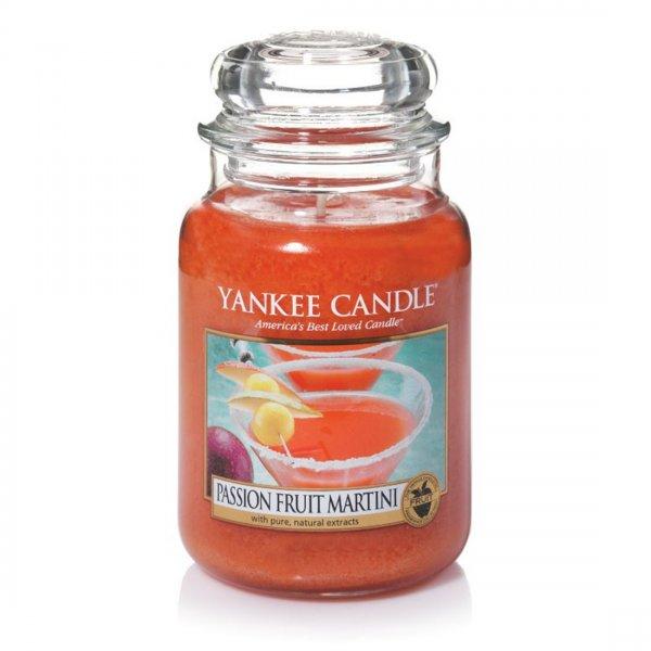 Świeca zapachowa Yankee Candle PASSION FRUIT MARTINI duży słoik