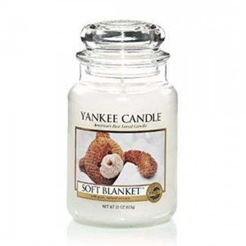 Świeca zapachowa Yankee Candle PASSION SOFT BLANKET duży słoik