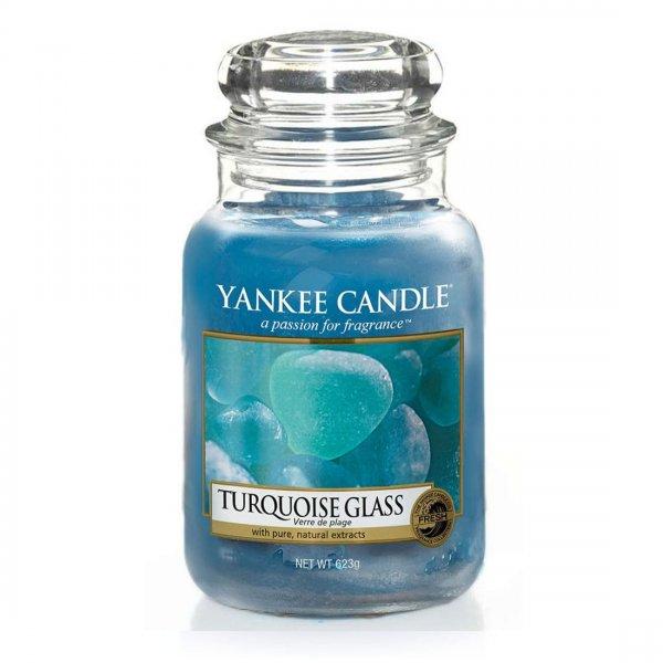 Świeca zapachowa Yankee Candle TURQUOISE GLASS duży słoik