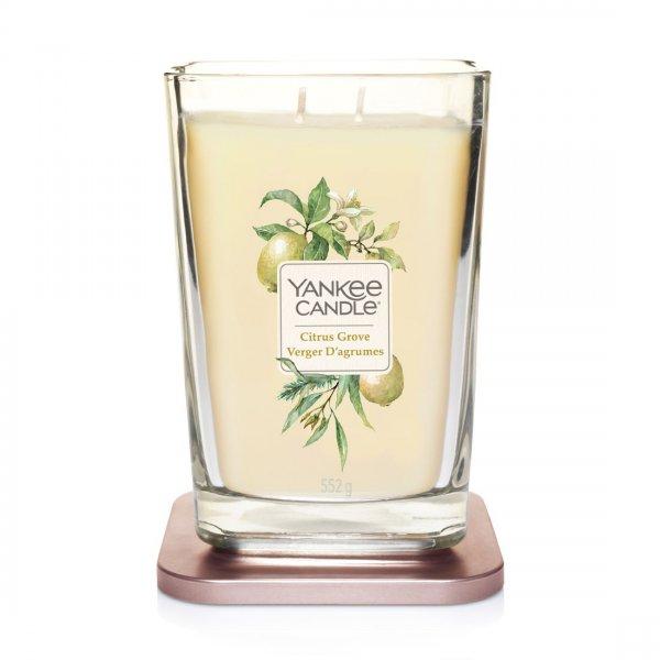 Świeca zapachowa Yankee Candle CITRUS GROVE duży wazon