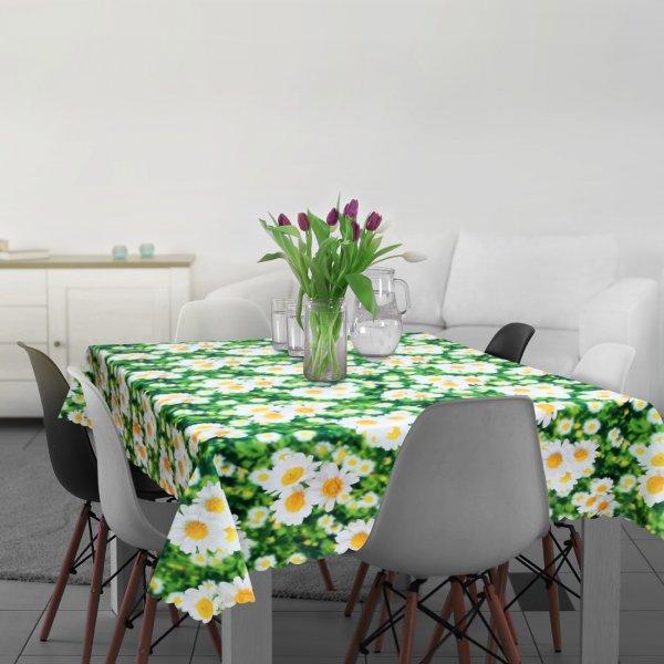 Obrus BEAUTIFUL DAISY 398-01 zielony